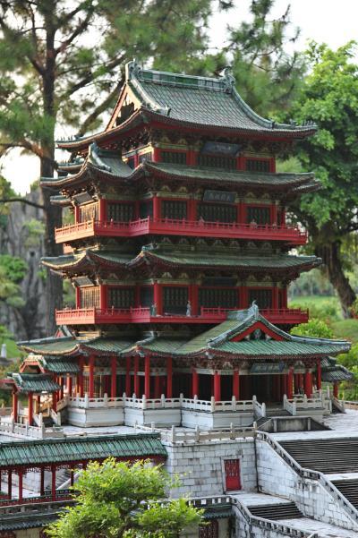 중국민속문화촌, 등왕각 09
