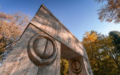 콘스탄틴 브란쿠시 공원 키싱 게이트 상세사진  03