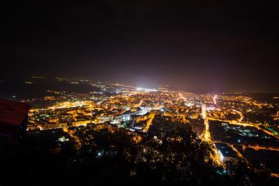 데바 도시 야경 뷰