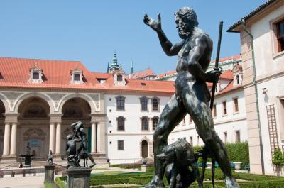 발렌슈타인 궁전 정원 동상