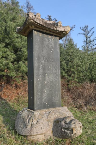 연천 강릉김씨묘역 신도비 08