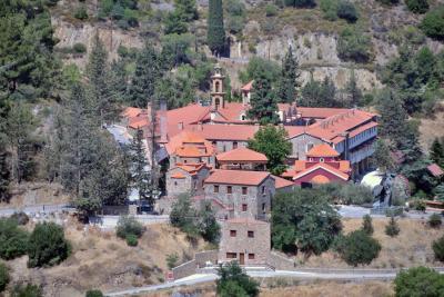 마차이라스 수도원 항공사진