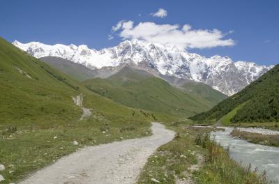 인구리 강 계곡