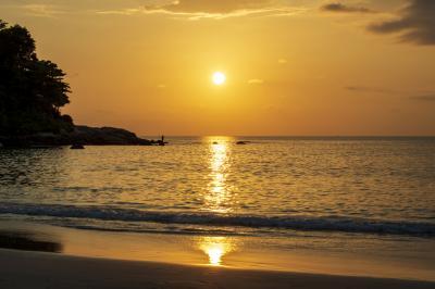 카타 해변 석양  10