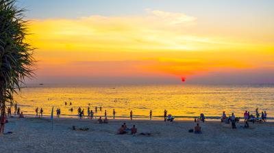 카타 해변 석양  12