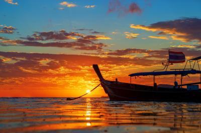 라와이 해변 일출  11