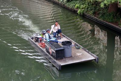 샌안토니오 운하 청소부 04