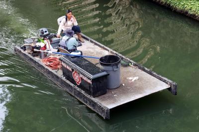 샌안토니오 운하 청소부 05