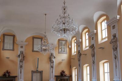 홀레쇼프 성의 내부