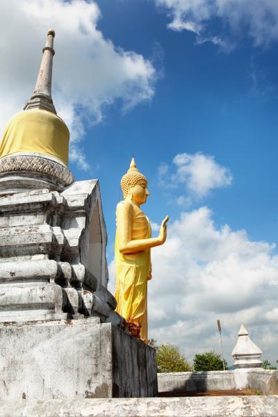 왓 카오 체디 프라야이 불교 사원  06
