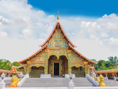 왓 왕캄 불교 사원  01