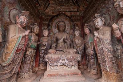 마이지산 석굴