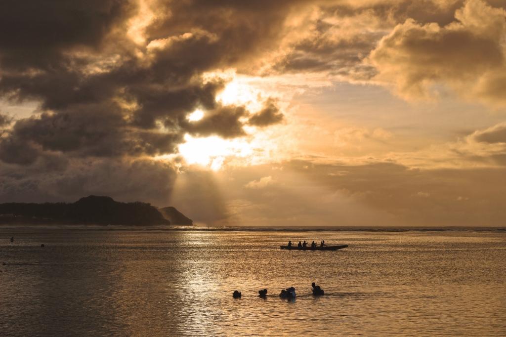 05-04 괌_그곳에서 만난 인연과 황금빛 일몰
