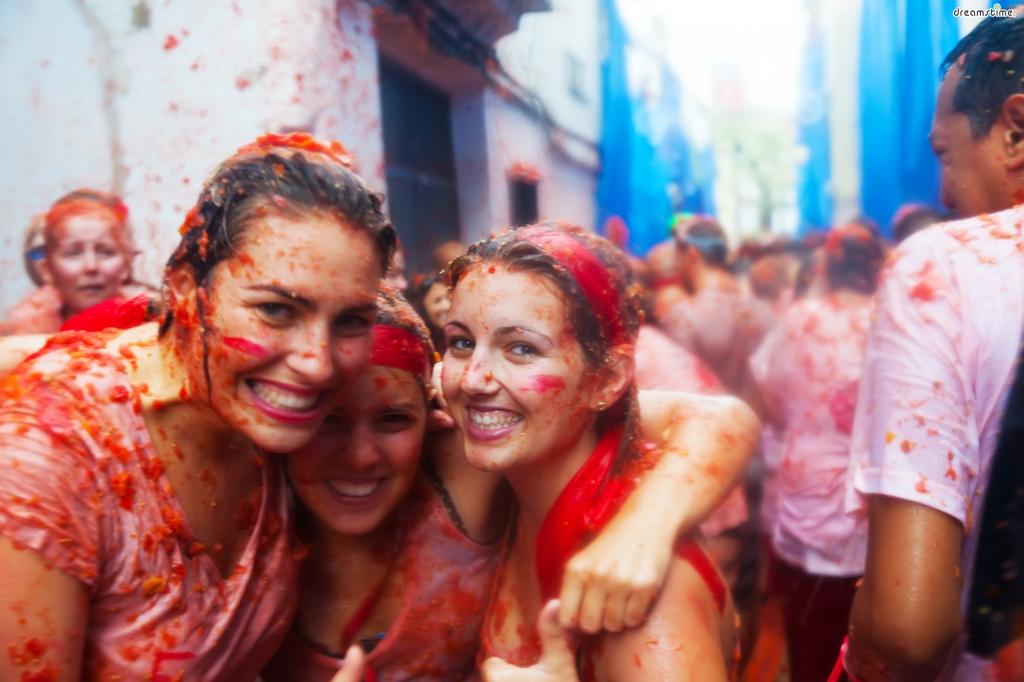 8월 축제_라 토마티나(토마토 축제)
