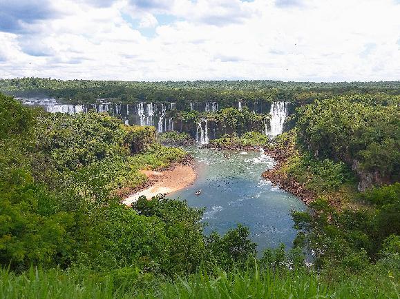 거대하지만 우아했던 이과수 폭포 #남미_브라질