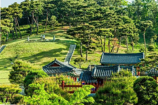 광교역사공원  심온묘역
