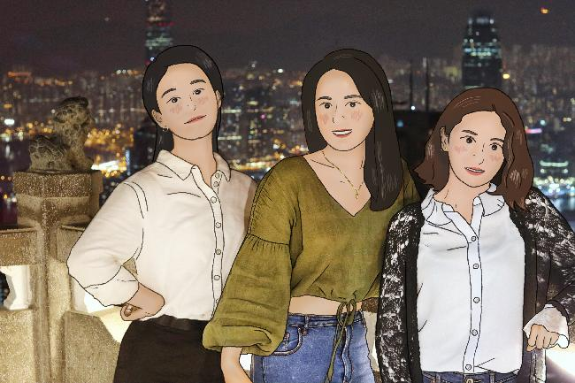 영화의 한장면, 홍콩 걸스나잇