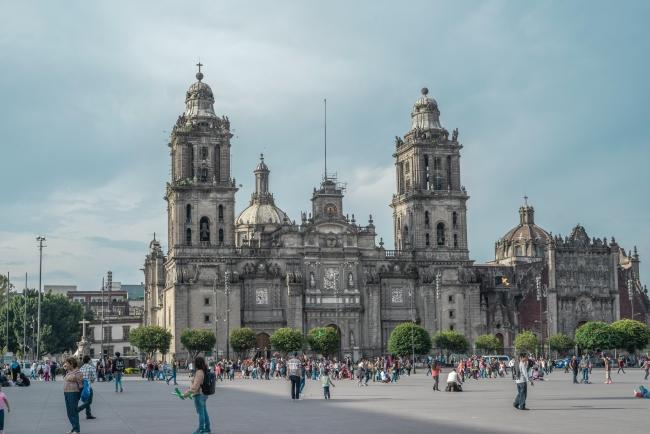 문화와 역사의 중심지 멕시코시티