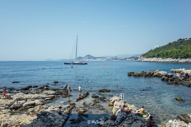 로크룸 섬에서 해수욕 즐기기, 두브로브니크 #4