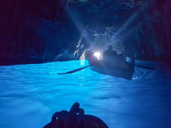 푸른 동굴의 산타루치아 노래