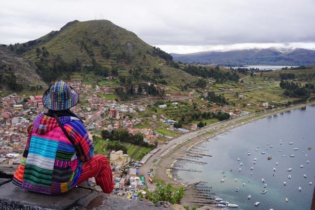5.코파카바나: 세계에서 가장 높은 호수 티티카카 호수