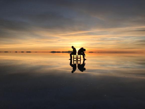 우유니 사막 : 누구나 꿈꾸는