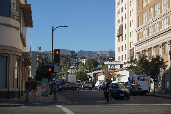 미국 서부 / LA : 할리우드 명예의 거리를 걷다.