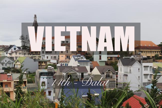 VIETNAM - TOMO의 베트남 여행, 제14화 - 더위를 피해 달려오는 도시, 달랏, 베트남 > 람동 > 자랏, by 토모