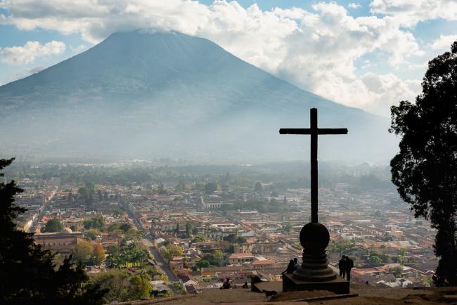 과테말라3_자연재해의 예전 수도, 안티구아