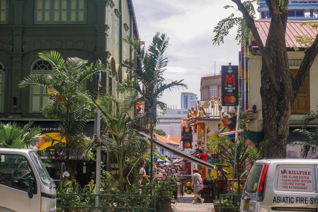 여유의 나라, 환상의 섬. 싱가포르