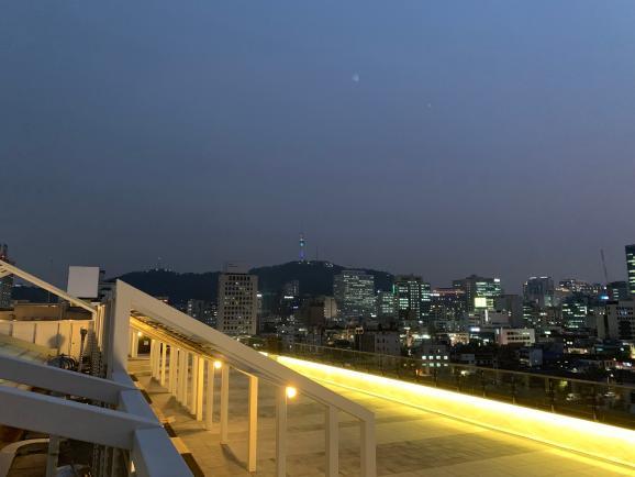 세운옥상에서 만나는 서울의 밤
