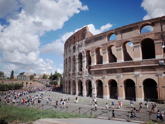 고대시대 문화의 꽃을 피운 이탈리아 로마
