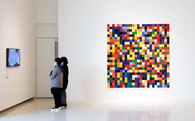 현존 최고 비싼 작가 리히터 <4,900가지 색채>