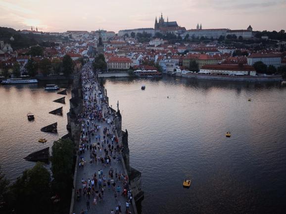 천년의 시간이 머무는 체코 프라하 역사지구