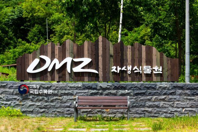 국가숲길 1호, DMZ 편치볼 둘레길 - 자생식물원
