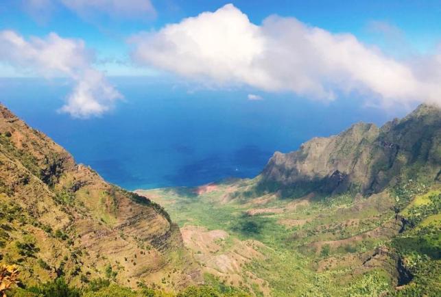 신들의 정원, 미국 하와이 카우아이