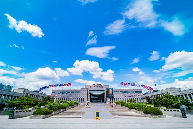 외국인도 추천하는 한국명소 용산 전쟁기념관