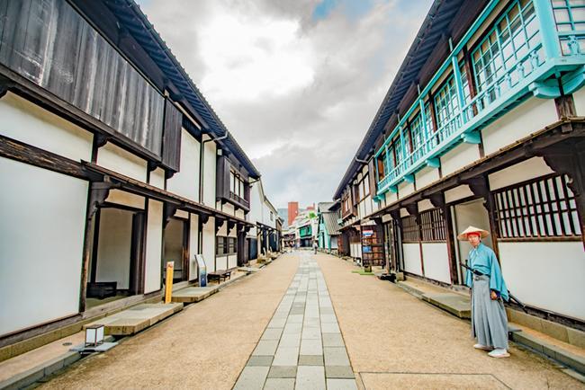 일본 교역의 중심지였던 나가사키 데지마