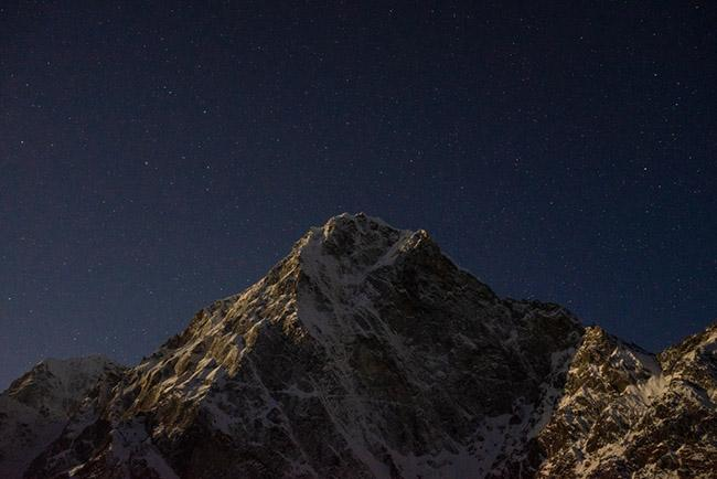 히말라야 백패킹의 시발점이 된 산 촐라체