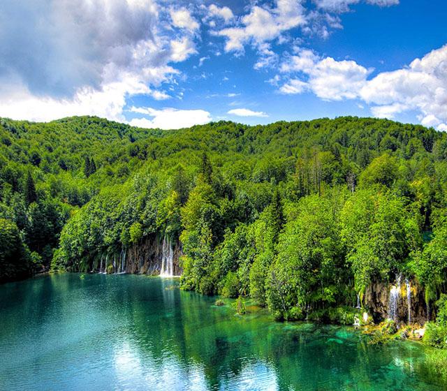 크로아티아 플리트비체 호수 국립공원