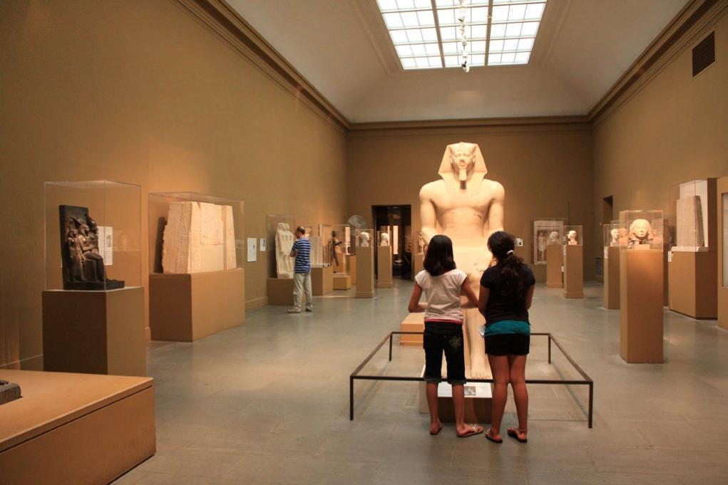 또 하나 눈여겨보아야 할 곳이 있다면 바로 이집트 전시관이다.  보스턴미술관의 이집트 컬렉션은 북미 최고 수준을 자랑하며  인상주의 전시실만큼이나 관람객들에게 인기가 많다.