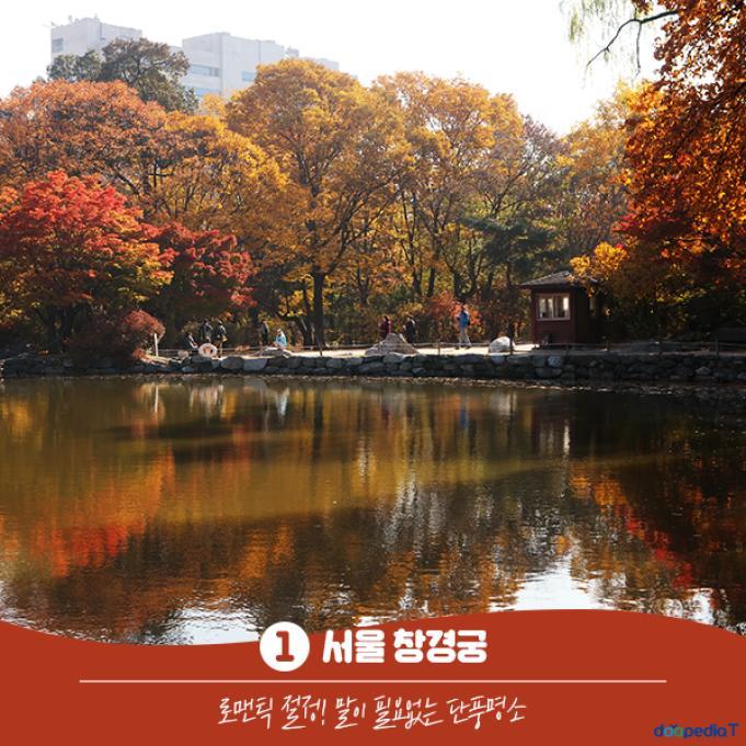 1 서울 창경궁  로맨틱 절정! 말이 필요없는 단풍 명소