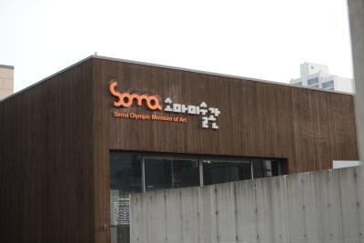 2004년 개관 당시의 이름은 '서울 올림픽 미술관'이었지만  2년 뒤 영어 명칭인 Seoul Olympic Mueum of Art의 약자이자  그리스어로 '몸'이라는 의미를 담은 'SOMA'로 이름을 바꿨다.