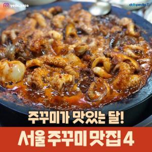 주꾸미가 맛있는 달!  서울 주꾸미 맛집4  *쭈꾸미의 올바른 맞춤법은 '주꾸미'입니다*  (사진 출처 : 인스타그램 @yeda_papa)