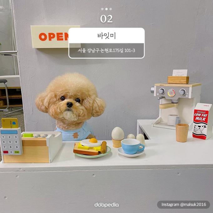② 바잇미 서울 강남구 논현로175길 101-3    Instagram@malsuk2016