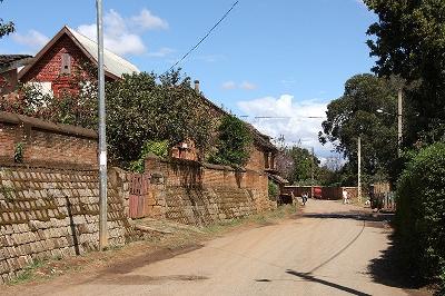 마다가스카르 3 - 농가와 논밭이 아름다운 안치라베